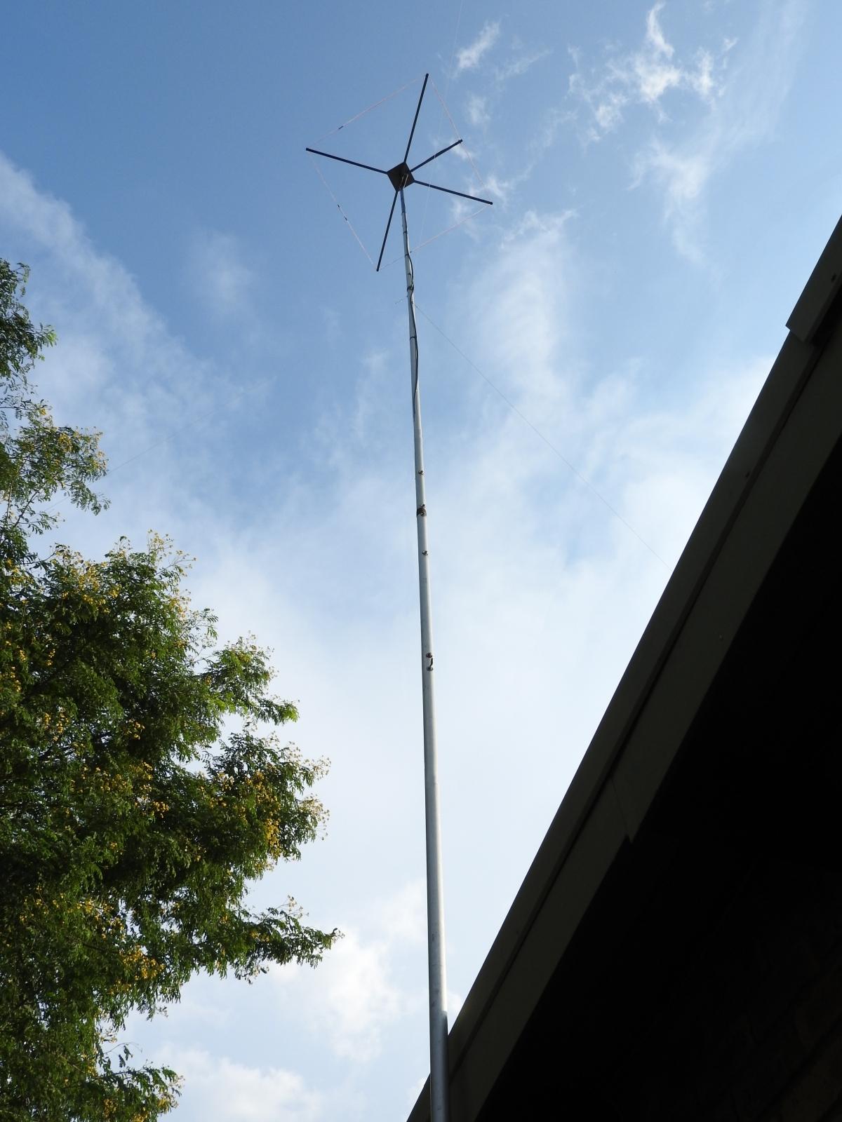 Raptorzone Relics Radio Communications 11 M Band Cobwebb Antenna Gap An Wiring Diagram Centred At 27500 Mhz