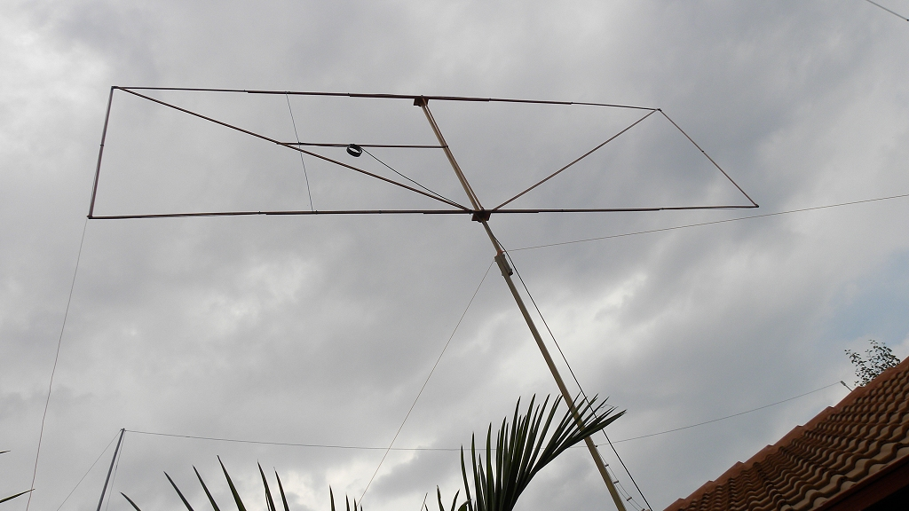 11 m Band Hentenna centred at 27.500 MHz