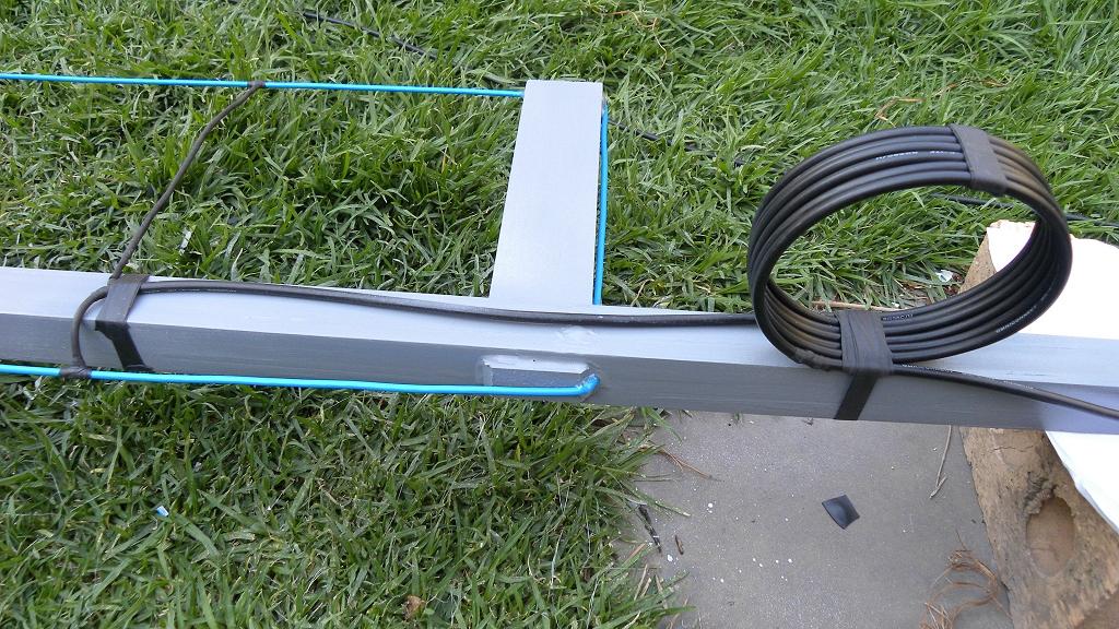 RaptorZone: Relics: Radio communications: 11 m Band J-Pole antenna