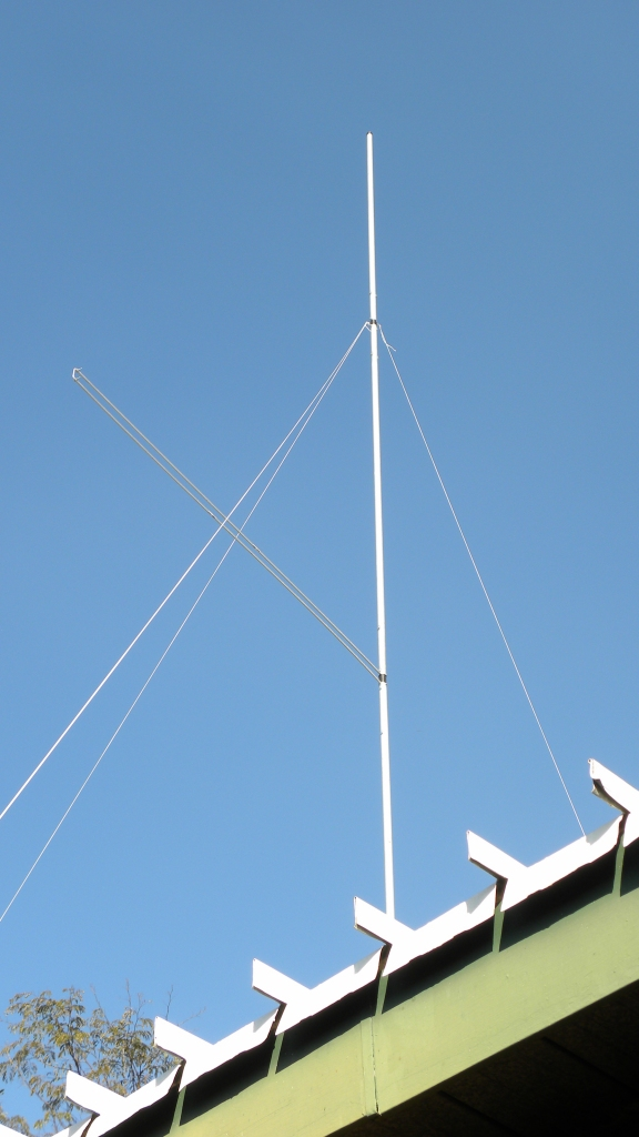 11 m Band Super J-Pole antenna centred at 27.500 MHz