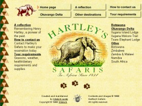 Hartley's Safaris