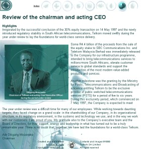 Telkom Annual Report